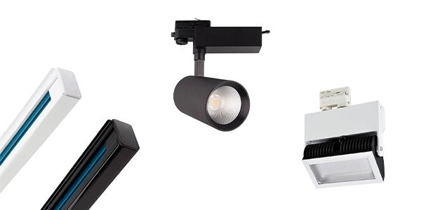 instaSTOCK - LED hall spotlights