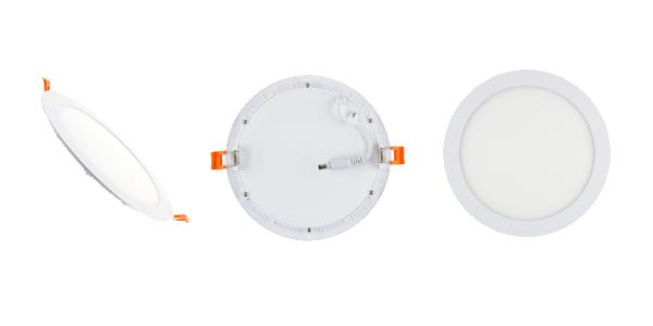 instaPLAIN tondo round ceiling lamps